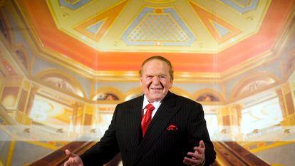 Sheldon Adelson, en una entrevista en el hotel Venetian de Macao, en agosto de 2007.