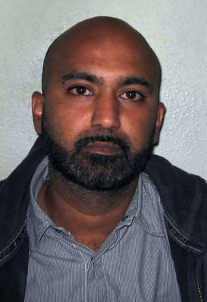 Safraz Ahmed, en una fotografía tomada por la policía británica.
