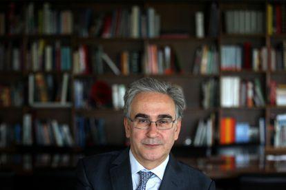 Dvd 583 - 30/10/2012 - Entrevista con José María Sanz Martín, rector de la Universidad Autónoma de Madrid - ©Gorka Lejarcegi