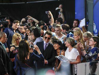 El actor Tom Cruise, en el estreno de 'Misión Imposible Fallout', el pasado 13 de julio, en Londres.