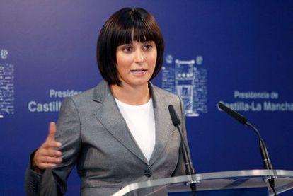 Isabel Rodríguez, portavoz del Gobierno de Castilla-La Mancha.
