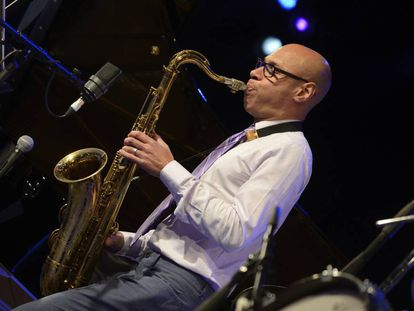 Joshua Redman protagoniza la tercera jornada del 40 Festival de Jazz de Vitoria.