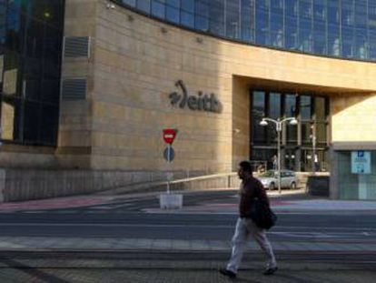 Sede central de EITB en Bilbao, en una imagen de archivo.