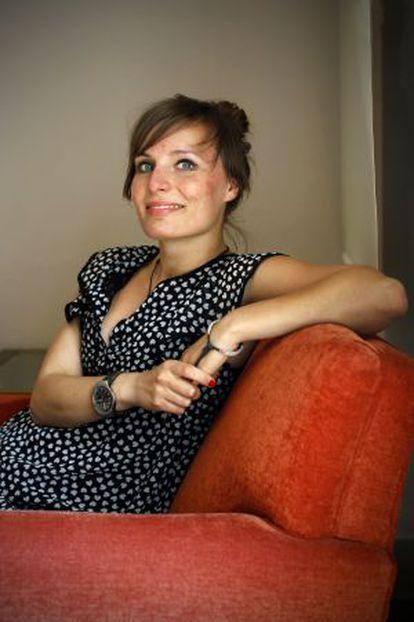 Ula Skwarek, alumna polaca del Máster de Relaciones Internacionales de la Escuela Diplomática española.