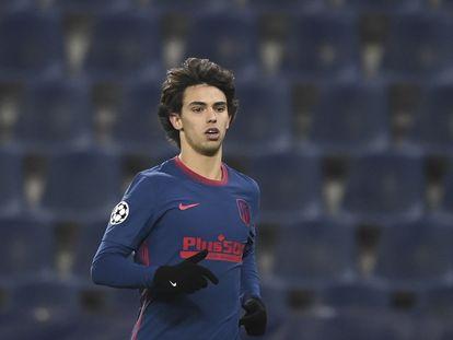 João Félix, el pasado miércoles en el partido del Atlético de Madrid ante el Salzburgo en Liga de Campeones.