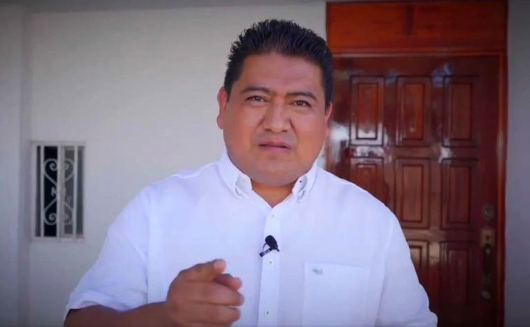 Humberto Santos, alleged creator of a WhatsApp group where he encouraged the sharing of intimate photos of indigenous women.