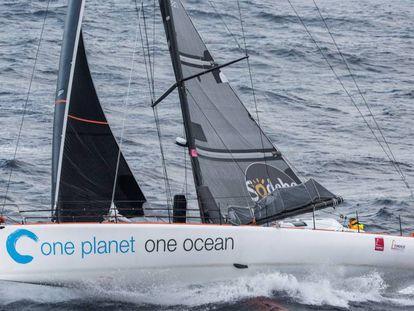 Didac Costa a bordo del One Plane One Ocean
