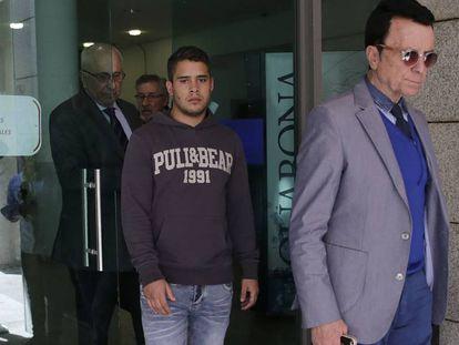 José Fernando, con su padre José Ortega Cano.