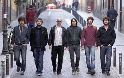Desde la izquierda, Guillermo, Juan Manuel, Álvaro, David, Pucho y Jorge.