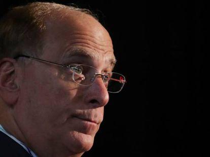 Larry Fink, consejero delegado de BlackRock, en una imagen de archivo.