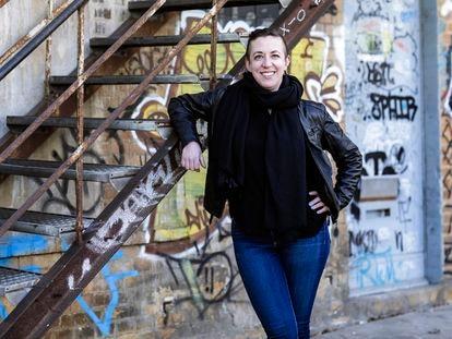 Jillian C. York, activista estadounidense defensora de la libertad de expresión, en Berlín el pasado 22 de marzo.