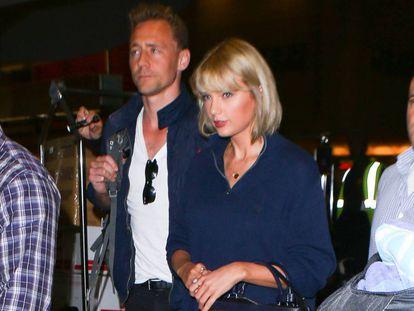 Taylor Swift y Tom Hiddleston, el pasado julio en Los Ángeles.