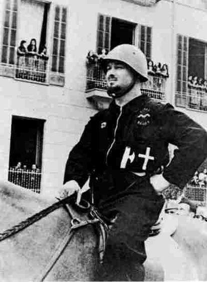 El Conde Rossi, falso aristócrata enviado por Mussolini a Mallorca en agosto de 1936.