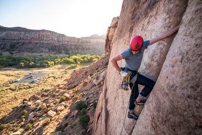 El escalador Alex Honnold.