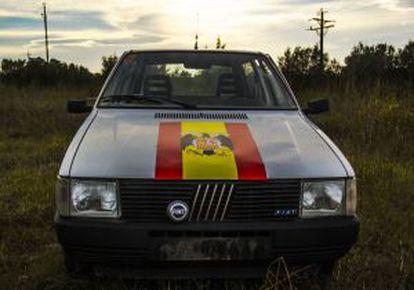 Parte frontal del vehículo-'performance'.
