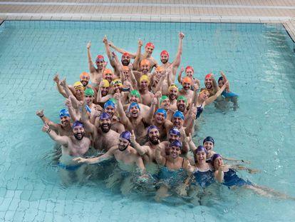 Sección de natación del club deportivo LGTBIQ