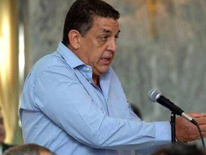 Eufemiano Fuentes Martínez, en el juicio del 'crimen del contenedor', en 2004.