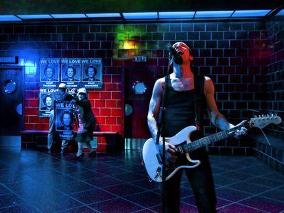 Pablo Derqui como Eddy en 'Com els grecs', en el Lliure.