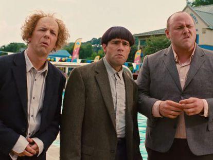 Fotograma de las película, 'Los tres chiflados'.
