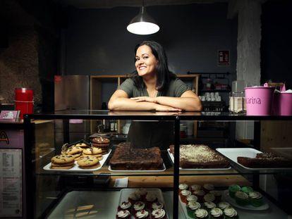 Amanda Fuentes, propietaria de la pasteleria La cocina de mi vecina