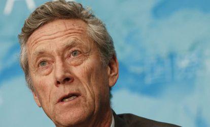 Olivier Blanchard, economista jefe del FMI.
