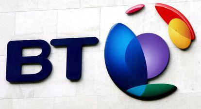 Logotipo del grupo de telecomunicaciones British Telecom.