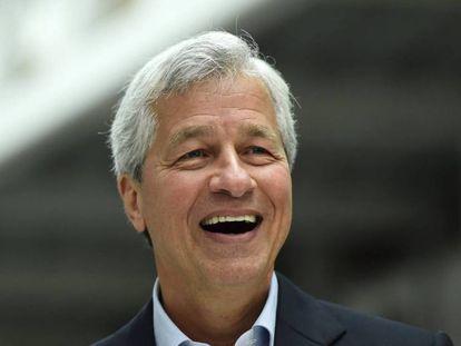 El presidente ejecutivo de JP Morgan, Jamie Dimon, el pasado junio.
