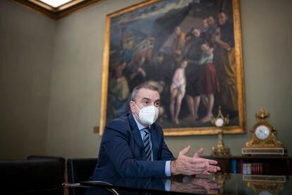 El delegado del Gobierno en Madrid, José Manuel Franco, este viernes.