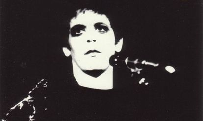 Lou Reed en la foto que aparecía en 'Transformer', su disco de 1972.