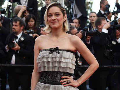 La actriz francesa Marion Cotillard, el pasado domingo, en Cannes.