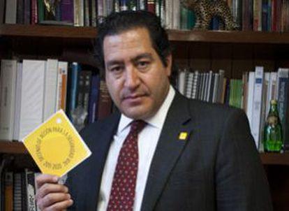 Arturo F. Trejo, director general de Promoción de la Salud.