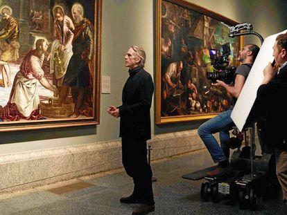 Jeremy Irons en el documental 'Pintores y reyes del Prado', que se verá en el BCN Film Fest.