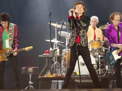 Los Rolling Stones, en Arizona (EE UU), el pasado agosto.