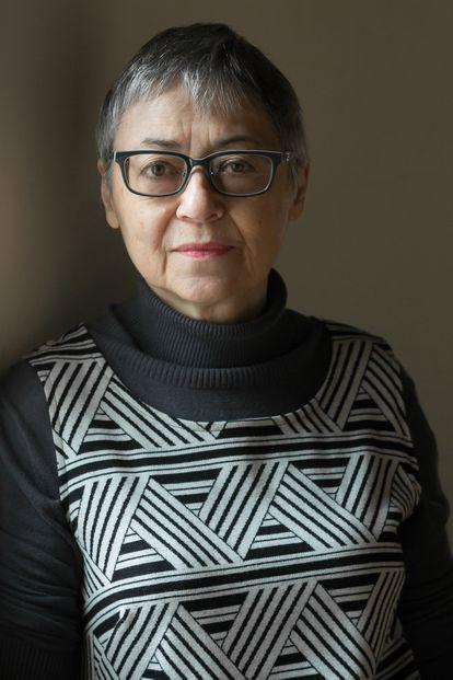 La escritora estadounidense Sigrid Nunez, en 2018.