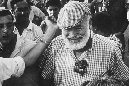 Hemingway en los Sanfermines.