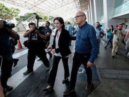 El retorno del reportero ocurre en medio de una fuerte represión del régimen de Ortega contra la Iglesia y los medios de comunicación en el país