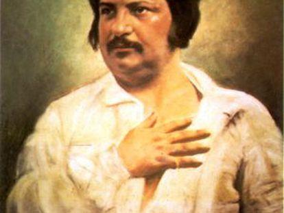 El escritor francés Balzac.