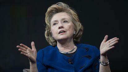 Hillary Clinton, en abril de 2014