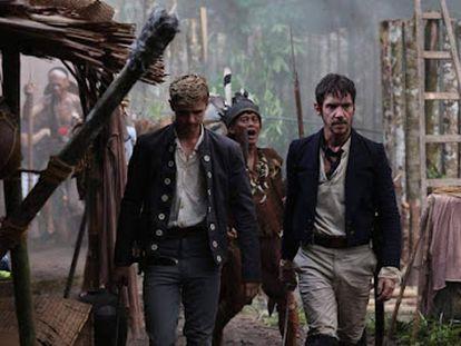 Un fotograma de 'El rey del fin del mundo' (2021), la película sobre James Brooks, el auténtico rajá blanco.