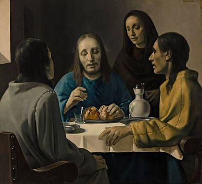 'La cena en Emmaus', de Han van Meegeren, atribuida en su momento a Vermeer.