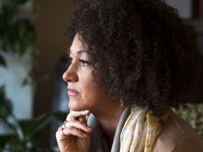 Rachel Dolezal, en una imagen tomada en su casa en Spokane.