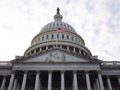 Una imagen del Capitolio, en Washington, este lunes.