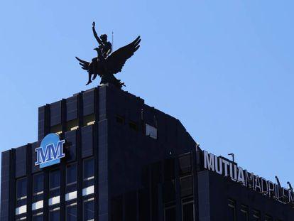 Sede de la compañía de seguros Mutua Madrileña en Madrid.