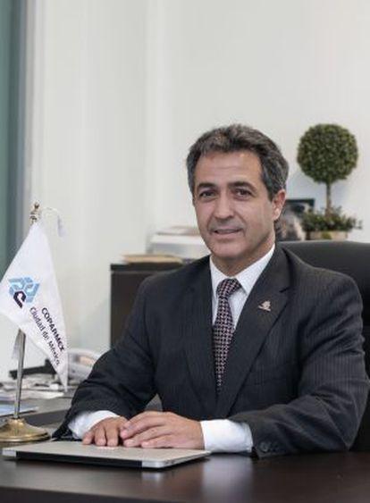 José Luis Beato, en su oficina de Ciudad de México