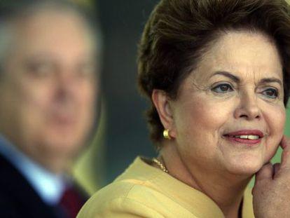 Dilma Rousseff, este viernes en Brasilia.