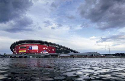 El estadio de fútbol de Kazán contará con la pantalla al aire libre más grande del mundo: 3.700 metros cuadrados de leds.