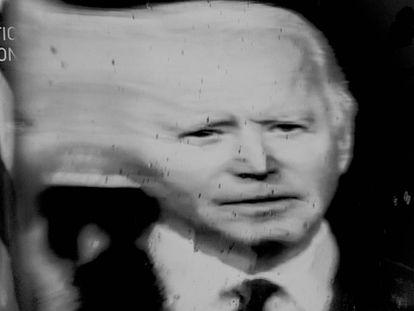 Joe Biden, en la convención del Partido Demócrata.