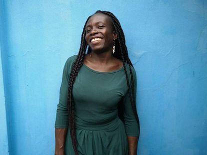 La artista de Ghana, fotografiada en Accra hace unas semanas.