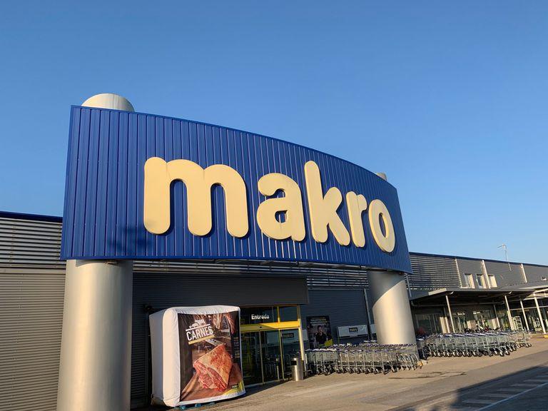 Un centro Makro, una de las empresas que ha presentado un ERTE por fuerza mayor.