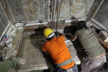 FOTOGALERÍA | El sepulcro de Jesucristo, en imágenes.